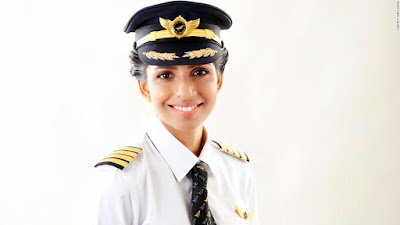 World's youngest Boeing 777 female commander