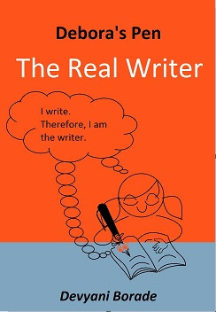 Verbolatry - Devyani Borade - Debora's Pen - The Real Writer book cover