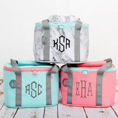Personalized Small Coolers from Marleylilly.com