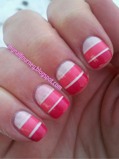 My nail journey 31 day challenge day 4 pink for 4 sisters nail salon hours