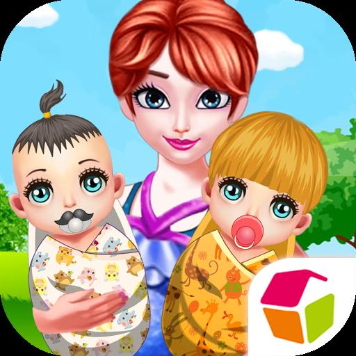 休闲のママ新生児ケア LOGO-記事Game