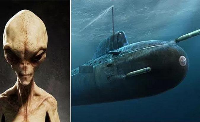 extraterrestres subaguaticos