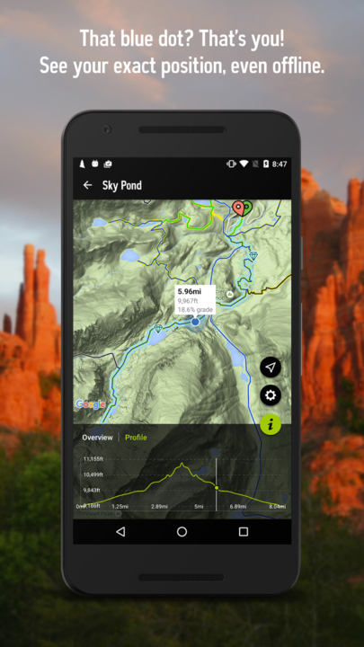 REI National Park Guide & Maps- screenshot