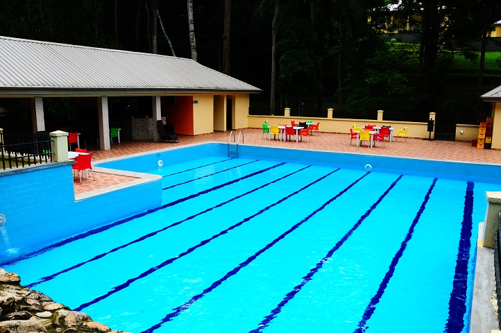 Ikogosi warm spring resort swimming pool