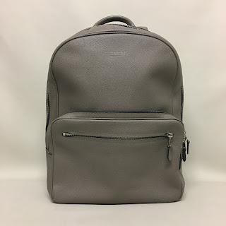 Coach Pebbeled Leather Backpack