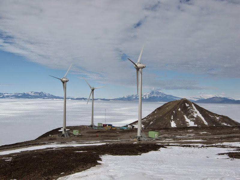 풍력발전기 모습