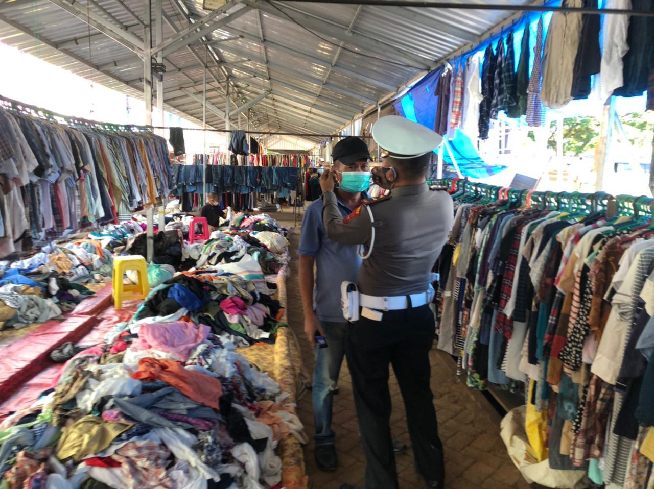 Kasat Shabara Polres Soppeng Pimpin Ops Aman Nusa II