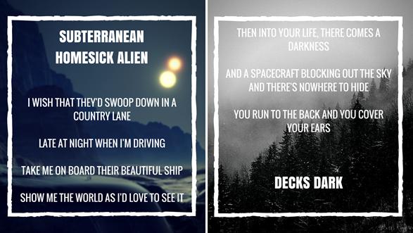 Subterranean Homesick Alien Lyrics and Decks Dark Lyrics