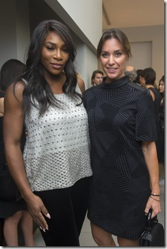 Serena Williams e Flavia Pennetta - SGP