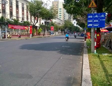 Sự thảnh thơi là tâm trạng của những người tham gia giao thông