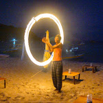 Spinning Poi at the Perhentian Islands, Malaysia