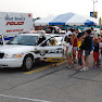 West seneca Police Officer Wright Giving Tours of the Patrol Car @ National Night Out in West Seneca 2009