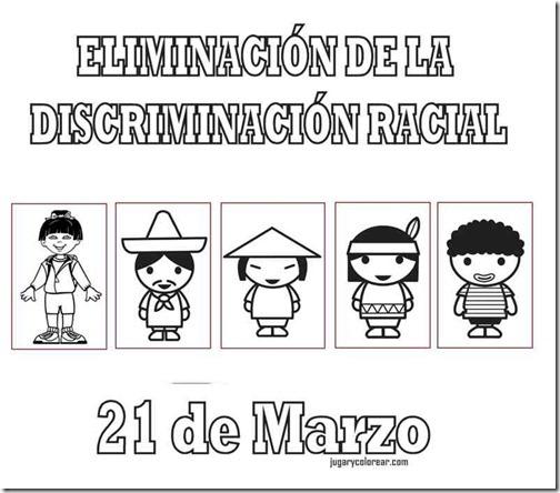 eliminacion discriminacion recial jugarycolorear (5)