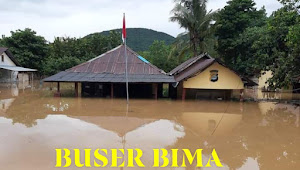 Ribuan Rumah Warga Bima Terendam Air, Akibat Banjir di Kecamatan Monta dan Kecamatan woha
