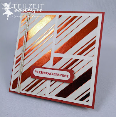 Stampin' Up! - In{k}spire_me #215, Christmas, Weihnachten, Eins für alles, And many more, DP Winterfantasie