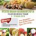 Pesta buah buahan di felda 2018