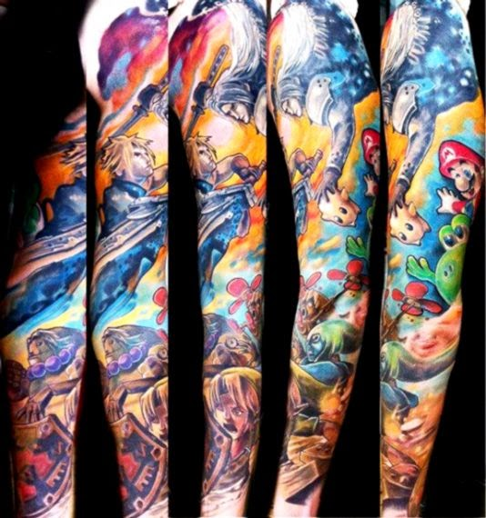 tattoo online games