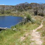Dam wall of Rainbow Lake (97003)