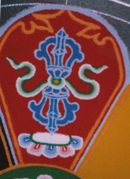 mandala closeup