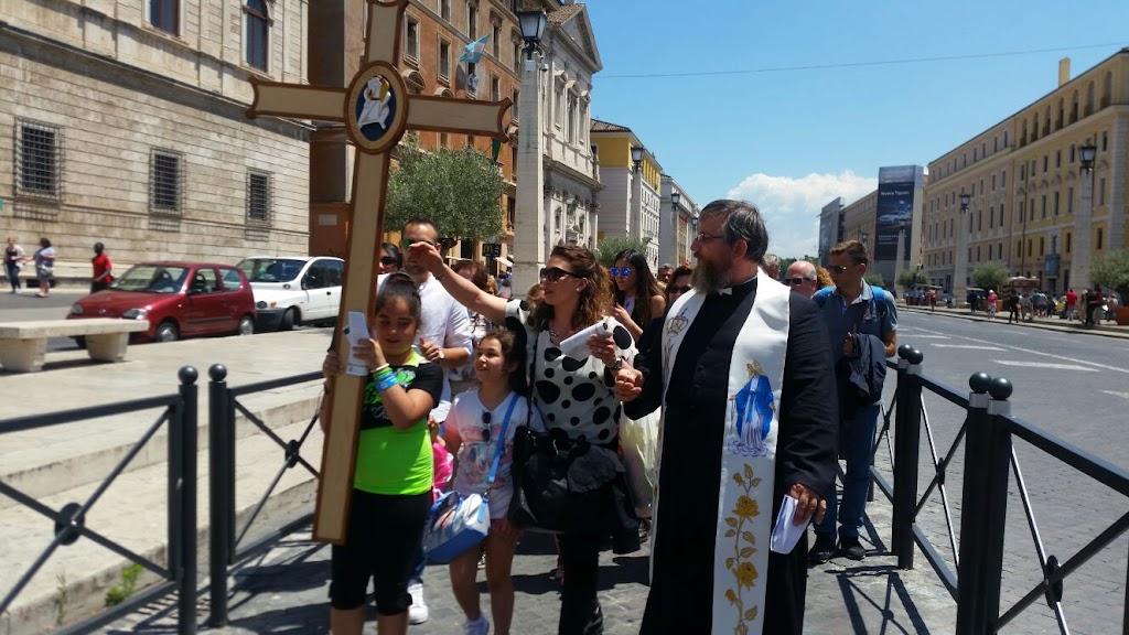 Pielgrzymi z Castellammare w Rzymie, 8 czerwca 2016 - IMG-20160608-WA0018.jpg