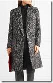 Michael Michael Kors Leopard Print Boucle Coat