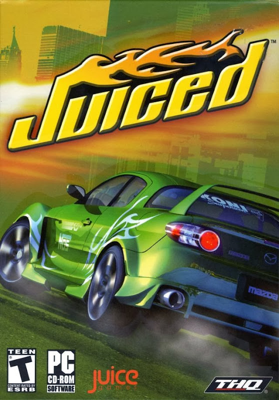 Cover Of Juiced (2005) Full Latest Version PC Game Free Download Resumable Links at Alldownloads4u.Com