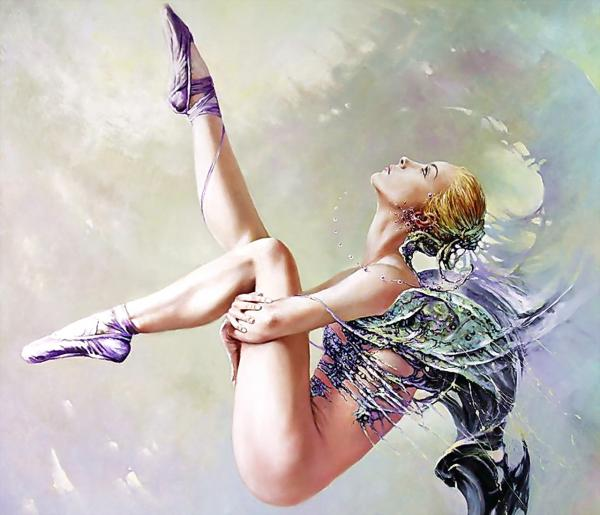 Flying Legs Beauty, Magic Beauties 2