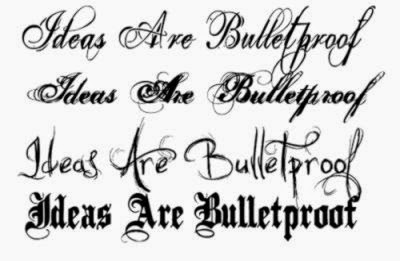 cursive tattoo fonts ideas Cursive Tattoo Fonts  Inked  Pinterest