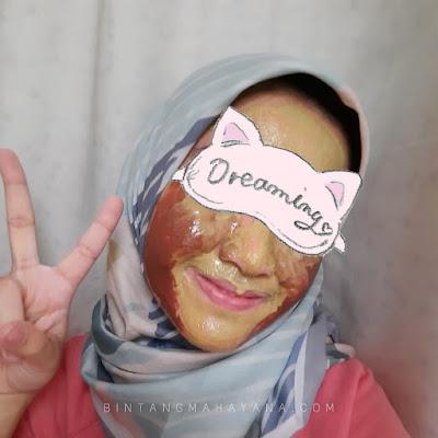 Daisy Organic Face Mask