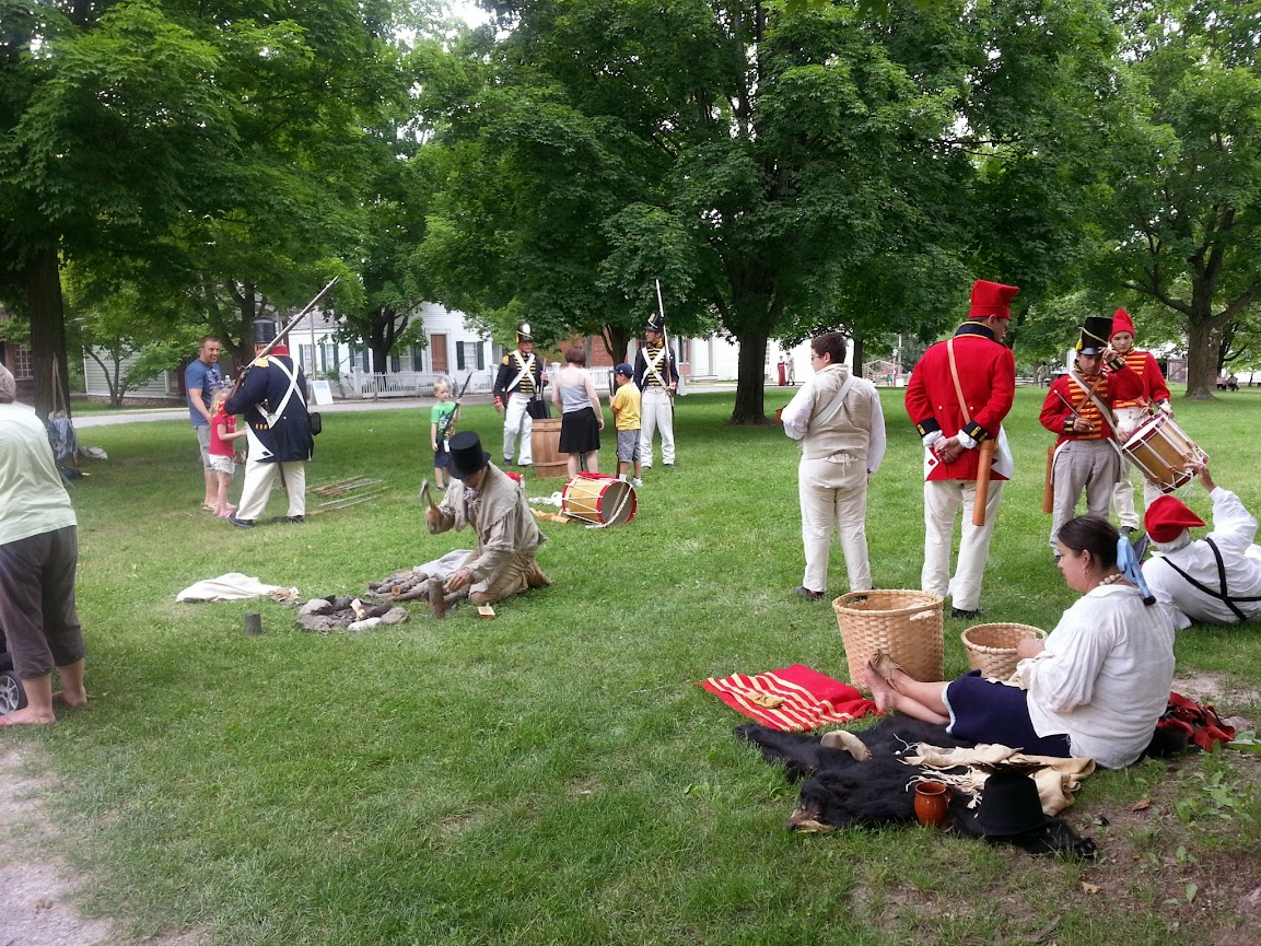 War of 1812 Reenactment
