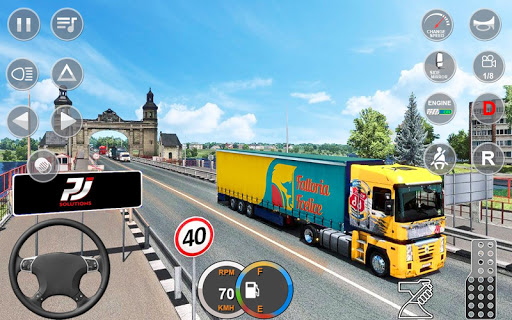 Indian Mountain Heavy Cargo Truck : Euro Truck Sim apkmr screenshots 4