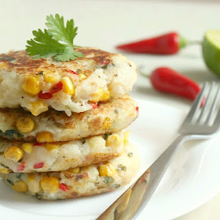 Thai-style Corn And Potato Cakes