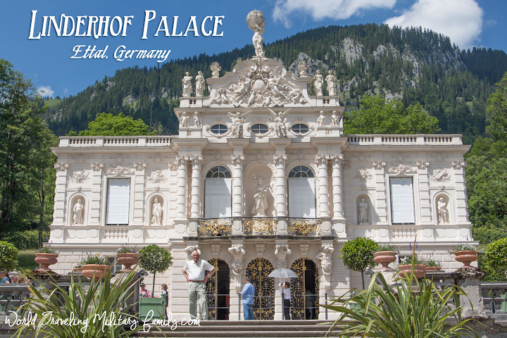 Ettal Germany  city photos : Linderhof Palace Ettal, Germany World Traveling Military Family