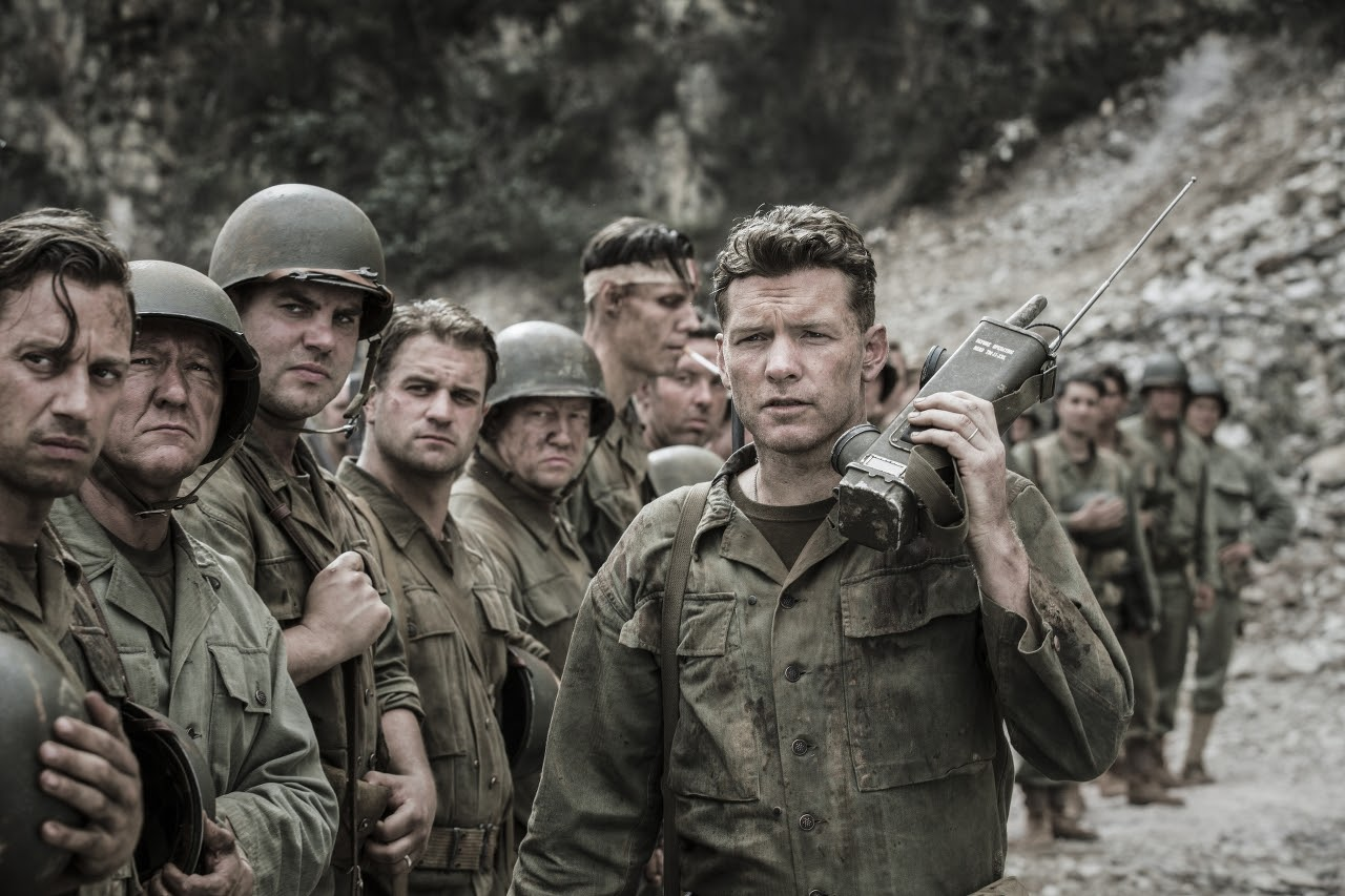 Sam Worthington stars as 'Captain Glover' in HACKSAW RIDGE. (Photo by Mark Rogers / Lionsgate).