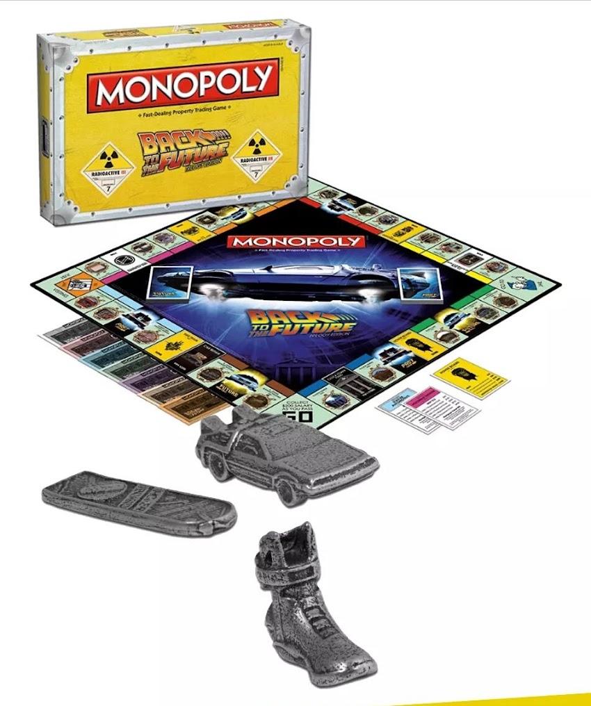 Il #Monopoli di Ritorno al Futuro è scontato su #Amazon