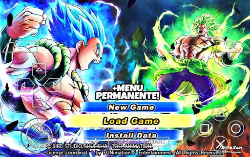 SAIU!!Novo Dragon Ball Tenkaichi TaG Team MOD SUPER BT3 +MENU PERMANENTE Para PPSSPP (+Download)