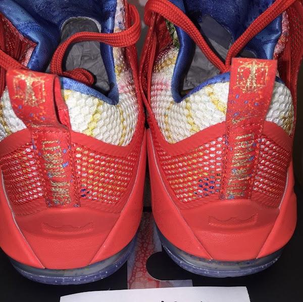 Nike LeBron 12 Low Trainwreck PE Sighting on eBay
