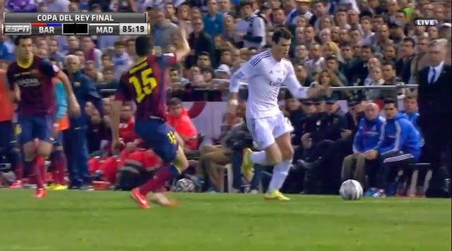 Bale, Barcelona - Real Madrid