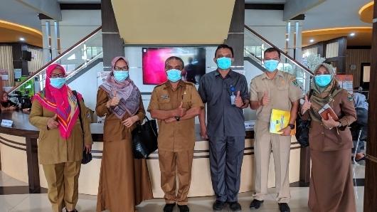 DPMPTSP Sumbar Kunjungi MPP Payakumbuh