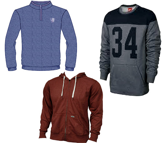 Men Fashion Sweatshirt Jacket