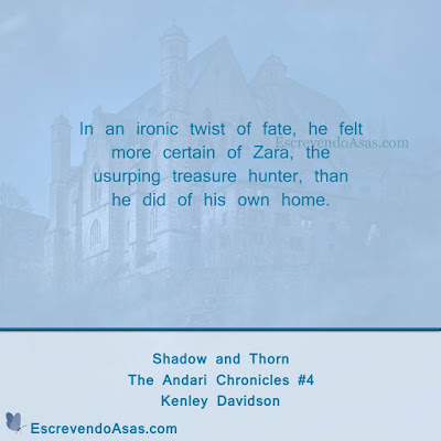 Shadow and Thorn - Kenley Davidson