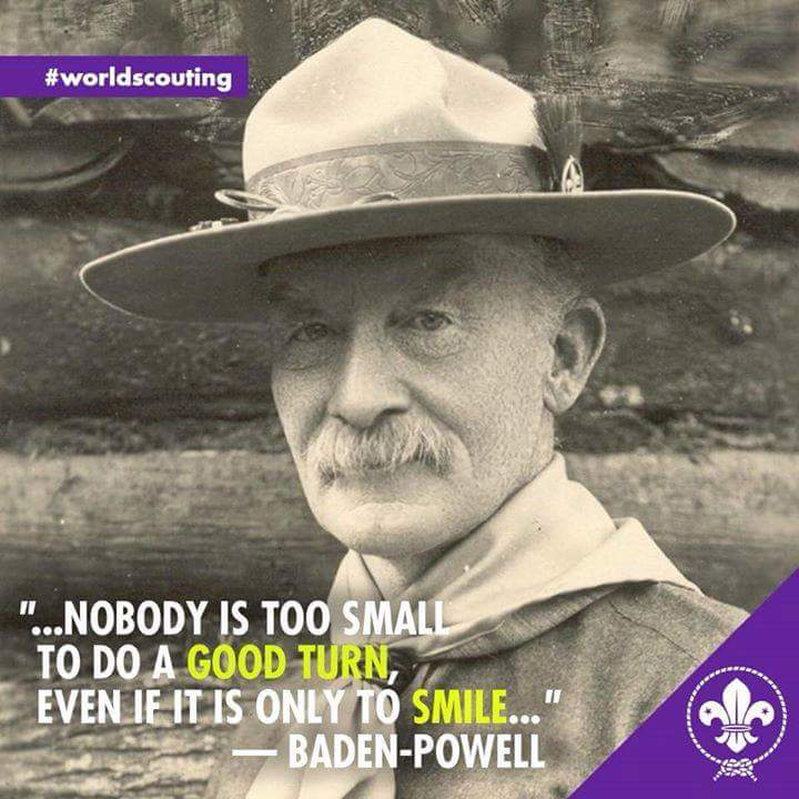 Boy Scout Essay With Quotes: Scouts & Guides. Bsg: BADEN -POWELL (QUOTES