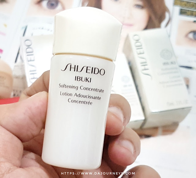 Review Shiseido IBUKI Softening Concentrate