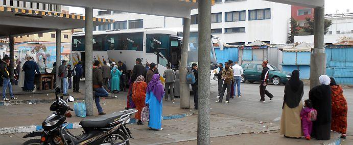 Busbahnhof von Larache