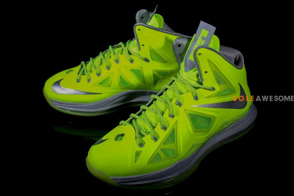 Finally a Decent Look at Nike LeBron X Volt Dunkman
