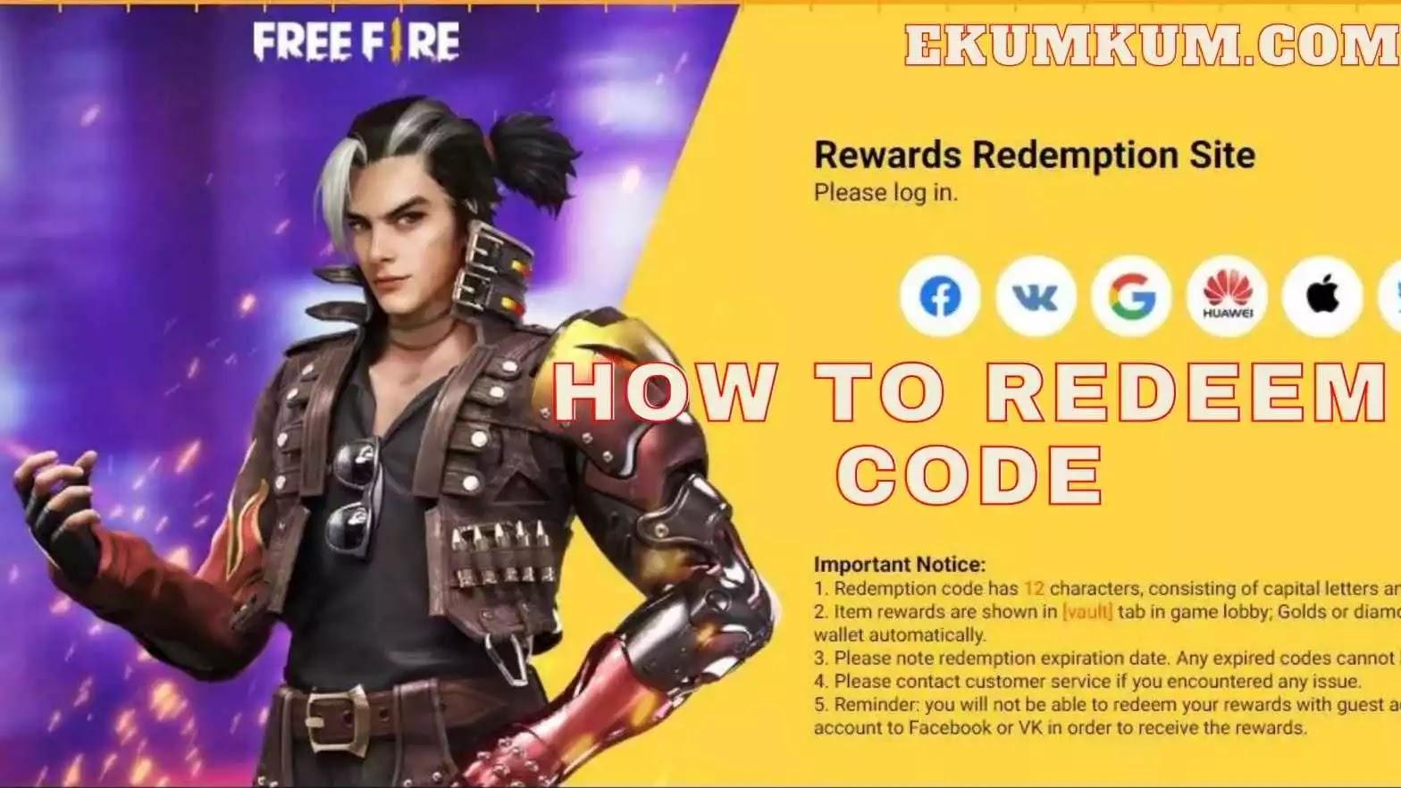 How To Redeem Code