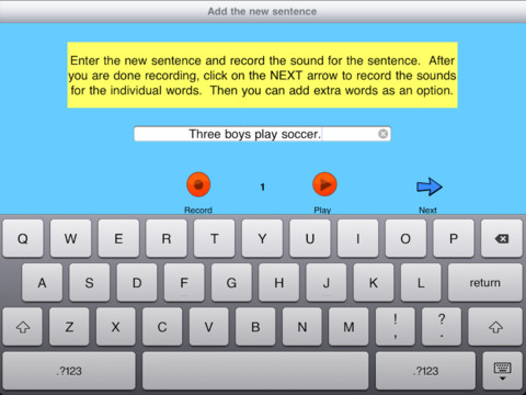 Sentence Builder App Create Your Own Lessons