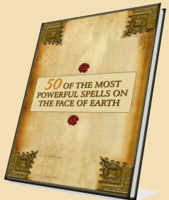 Cover of Anonymous's Book 50 Of The Most Powerful Spells On The Face Of Earth
