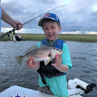 Jennings with a nice Croaker great job 09-24-2018