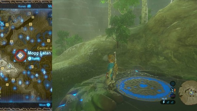 Zelda: Breath of the Wild ? Mogg Latan Shrine Guide